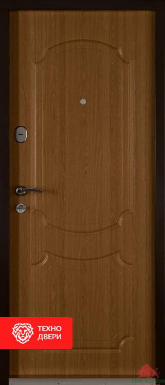 Дверь шпон дуба натуральный, 17352 внутреняя сторона
