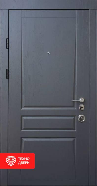 Дверь МДФ с двух сторон классика, 10002 внешняя сторона
