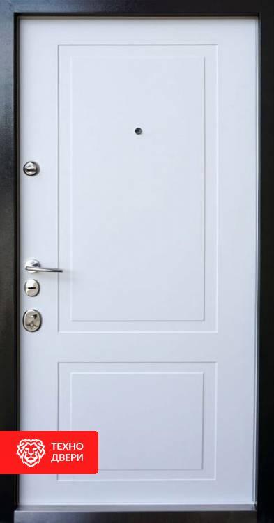Дверь МДФ с двух сторон классика, 10002 внутреняя сторона