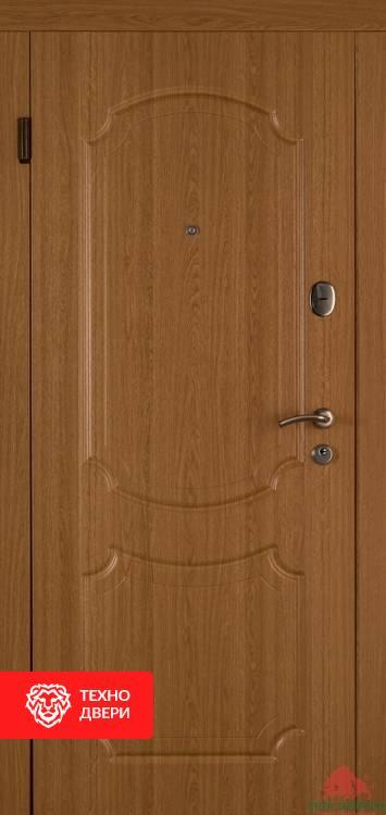 Дверь шпон дуба натуральный, 17352 внешняя сторона