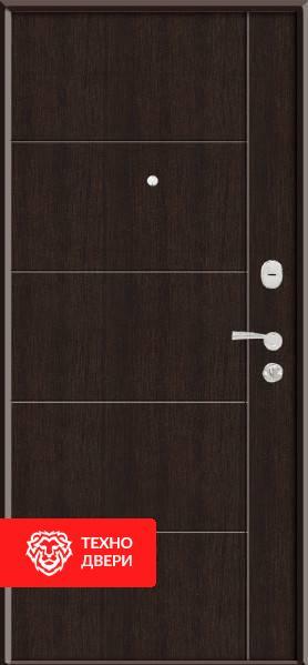 Дверь венге МДФ с двух сторон, 22233 внешняя сторона