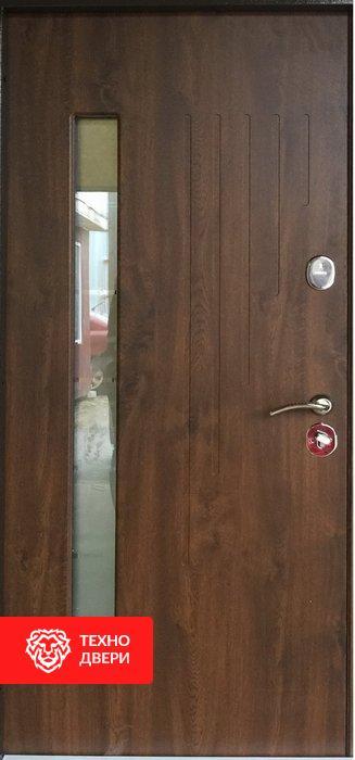 Дверь пленка ПВХ Винорит со стеклом, 24208 внутреняя сторона