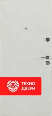 Дверь усиленная металл напыление / внутри МДФ, 24186 внутреняя сторона