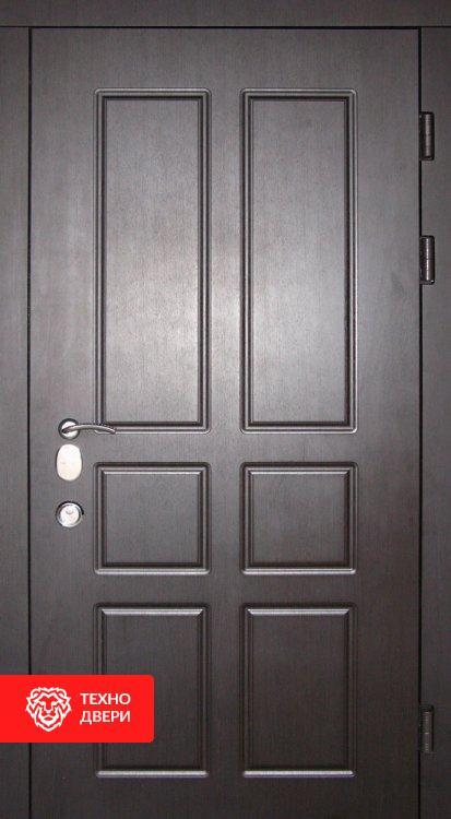 Дверь винорит молочный Шоколад / Серый, 24205 внешняя сторона