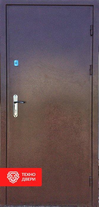 Дверь металл и МДФ эконом, 10019 внешняя сторона
