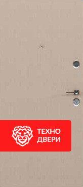 Дверь серый бархатный МДФ / молочный капучино, 24194 внутреняя сторона