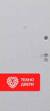 Дверь МДФ Модерн рисунок Полосы / МДФ бетон светлый, 28087 внутреняя сторона