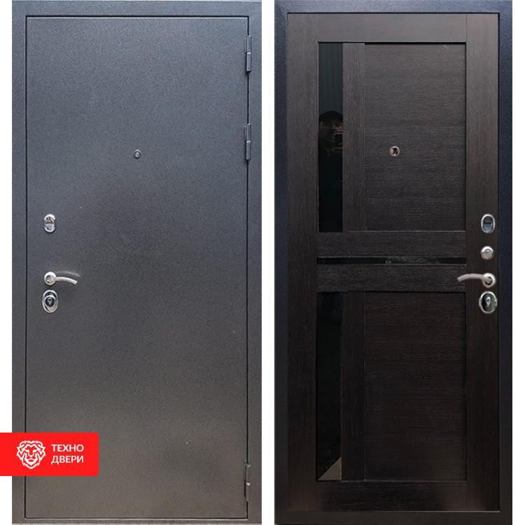 Входная стальная дверь Антик серебро / Венге, 16671