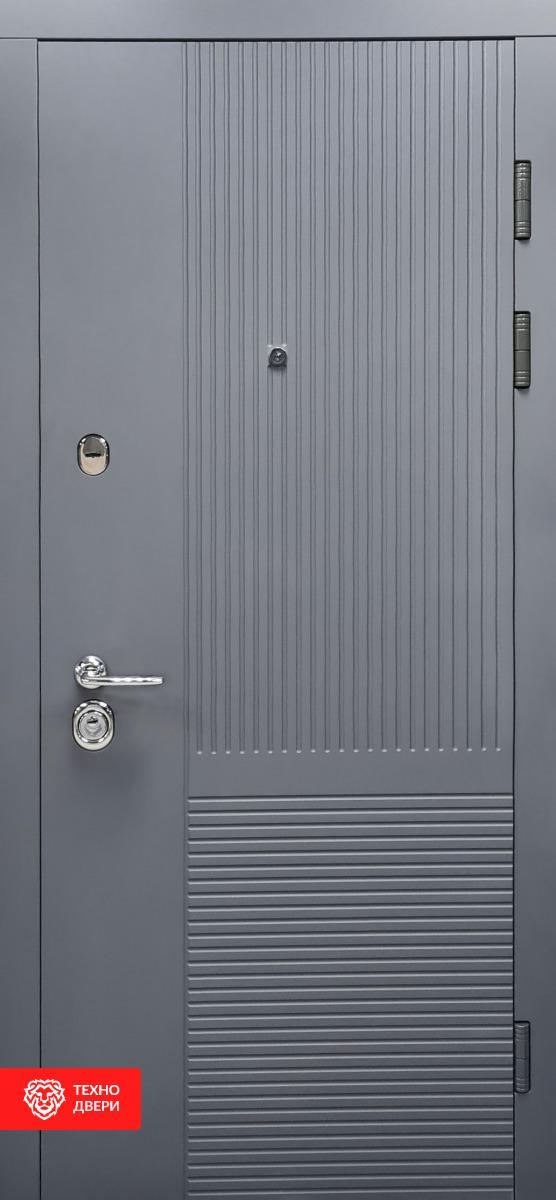 Дверь МДФ Модерн Мусонное дерево / Платиновое дерево, 27866 внешняя сторона