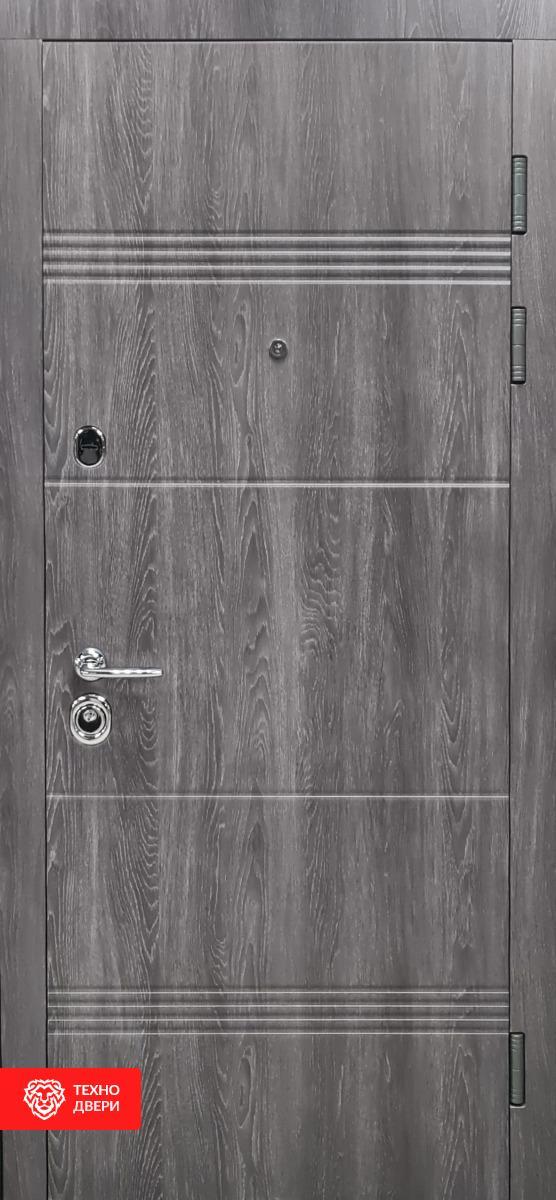 Дверь МДФ Модерн Дуб серебряный, 27863 внешняя сторона
