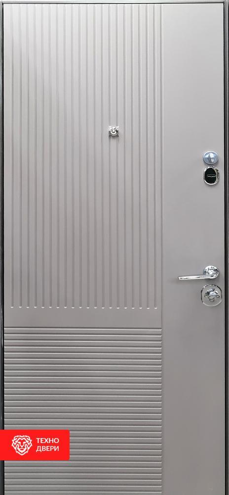 Дверь МДФ Модерн Мусонное дерево / Платиновое дерево, 27866 внутреняя сторона