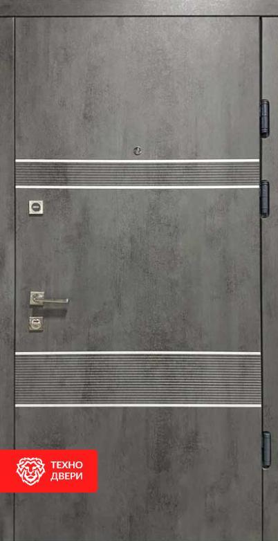 Дверь МДФ под бетон с двух сторон, 26777 внешняя сторона