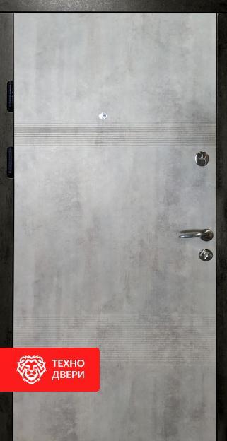 Дверь МДФ под бетон с двух сторон, 26777 внутреняя сторона