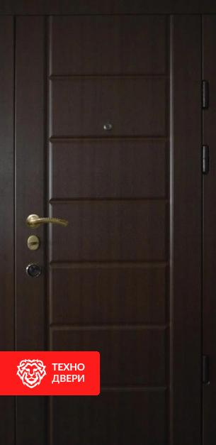 Двери МДФ цвет венге с  двух сторон, 26776 внешняя сторона