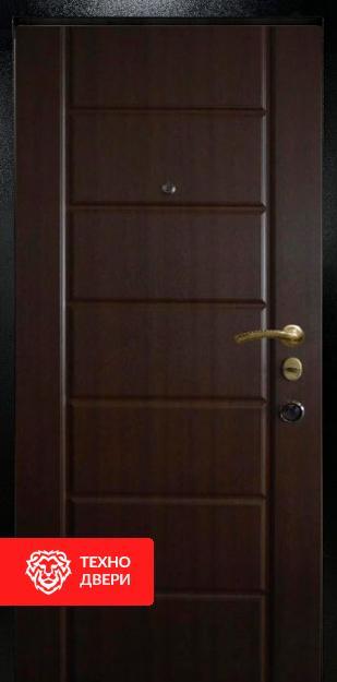 Двери МДФ цвет венге с  двух сторон, 26776 внутреняя сторона