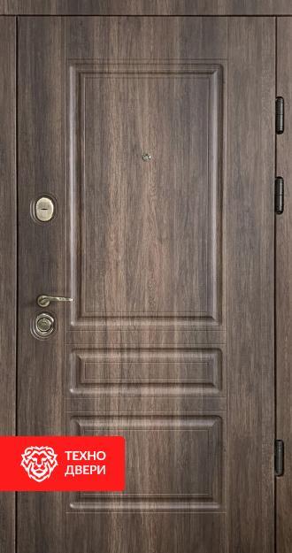 Дверь снаружи под дерево, внутри белая, 26775 внешняя сторона