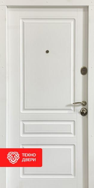 Дверь снаружи под дерево, внутри белая, 26775 внутреняя сторона