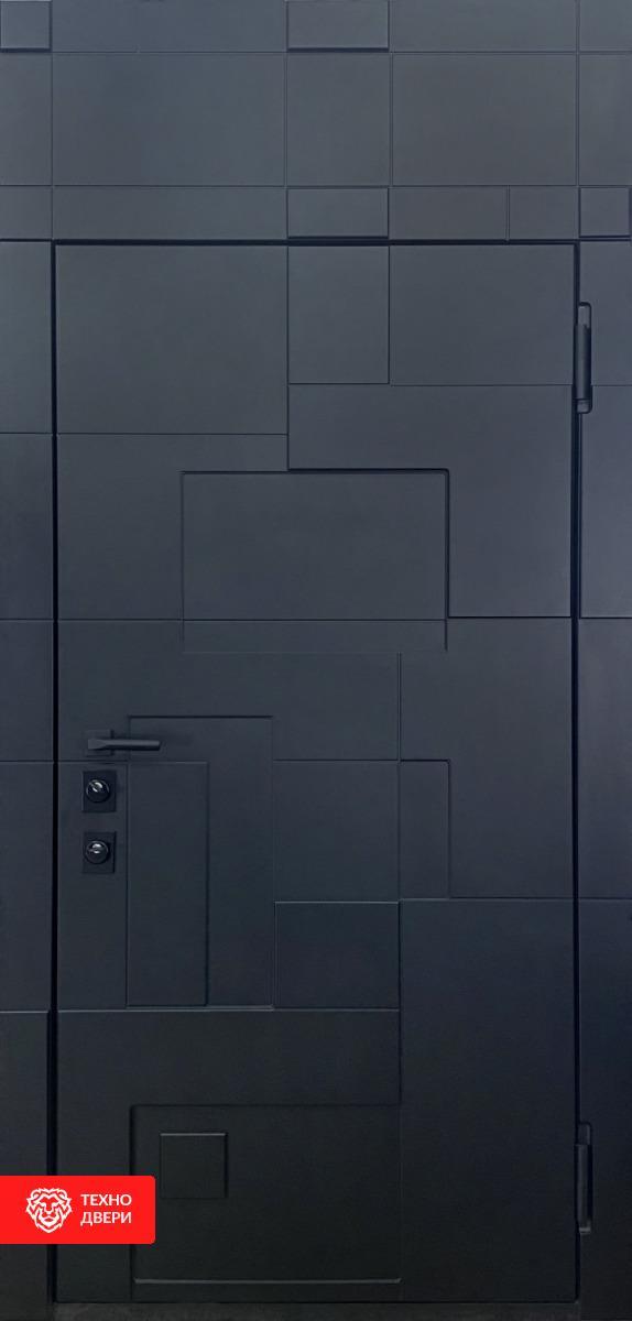 Тёплая входная дверь с терморазрывом, ТР-3/1 внешняя сторона