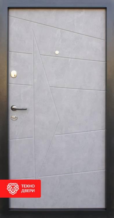 Дверь МДФ имитация бетона с двух сторон рисунок, 10010 внутреняя сторона