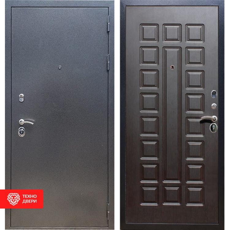 Входная стальная дверь Антик серебро / Венге, 11640