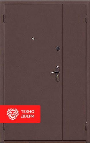 Железная тамбурная дверь с порошковым напылением с 2-х сторон, 27535