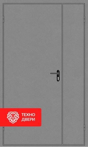 Железная дверь в подъезд с порошковым напылением с 2-х сторон, 27541