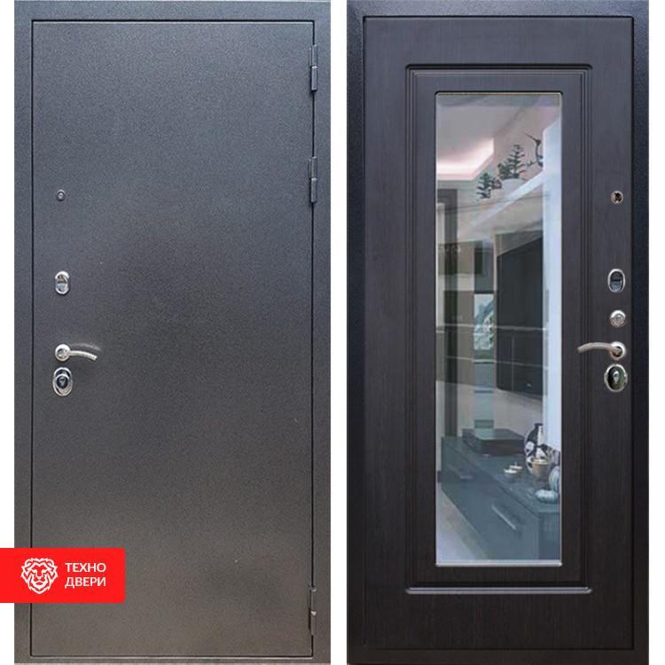 Входная стальная дверь Антик серебро / Венге, 16655