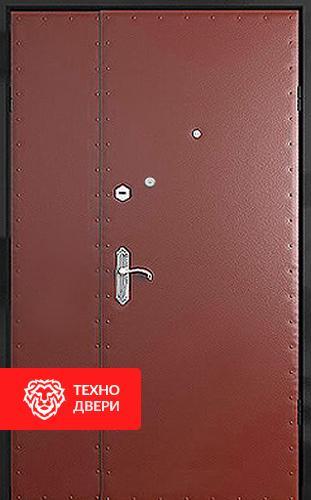 Входная тамбурная дверь с винилискожей с рисунком с 2-х сторон, 27538