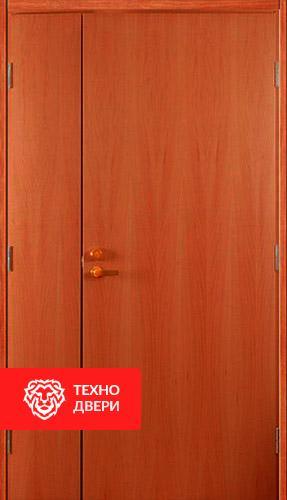 Стальная тамбурная дверь с ламинатом и винилискожей гладкой, 27536