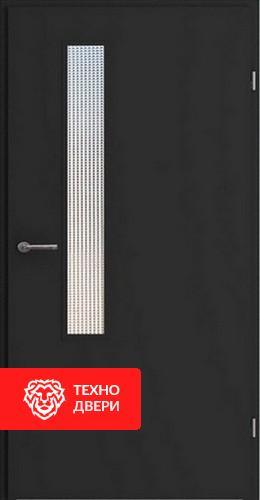 Металлическая дверь в подъезд с покрасом с 2-х сторон, 27540