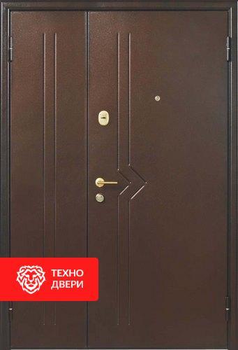 Входная тамбурная дверь с порошковым напылением с 2-х сторон, 27535