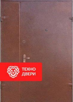 Стальная дверь в подъезд с порошковым напылением с двух сторон, 27544