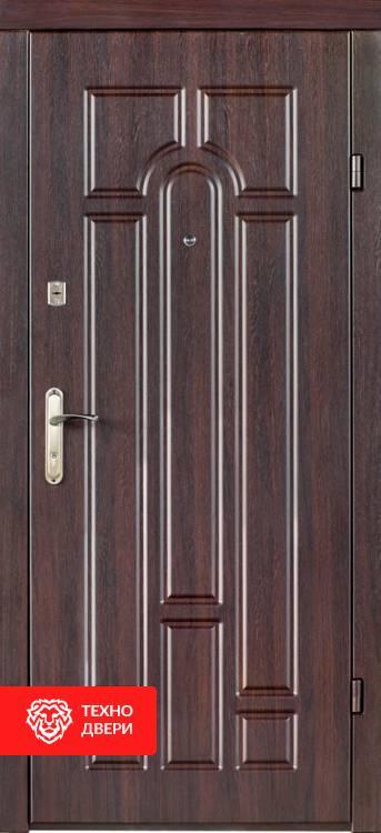 Дверь МДФ рисунок Арка / МДФ белые полосы, 21445 внешняя сторона