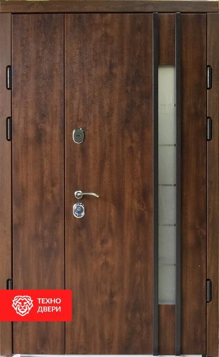 Дверь пленка ПВХ Винорит со стеклом, 24208 внешняя сторона
