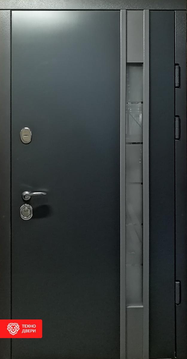 Дверь пленка Vinorit со стеклопакетом, 26399 внешняя сторона