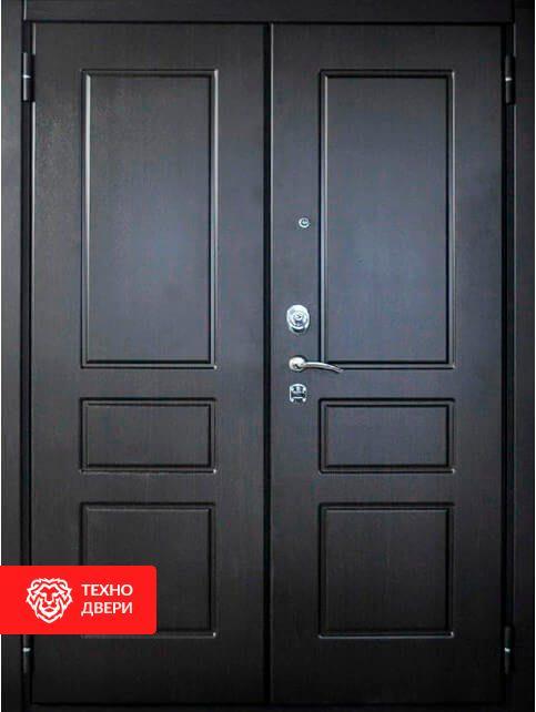 Дверь с двумя равными створками Венге, 27260