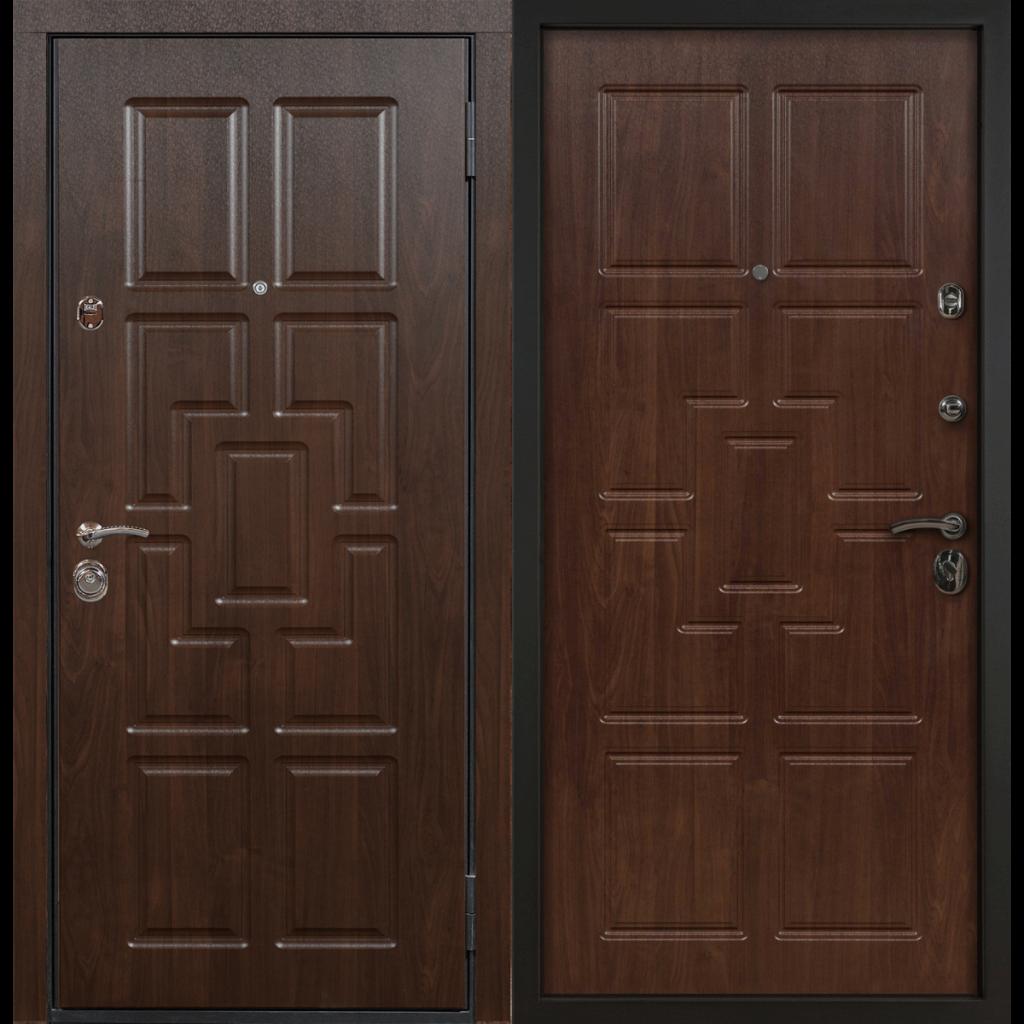 Дверь с терморазрывом МДФ венге/МДФ венге, 276877