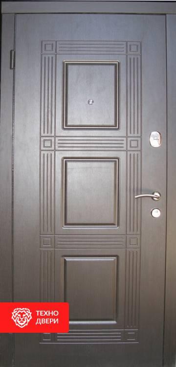 Дверь МДФ рисунок Квадро / белый, 21430 внешняя сторона