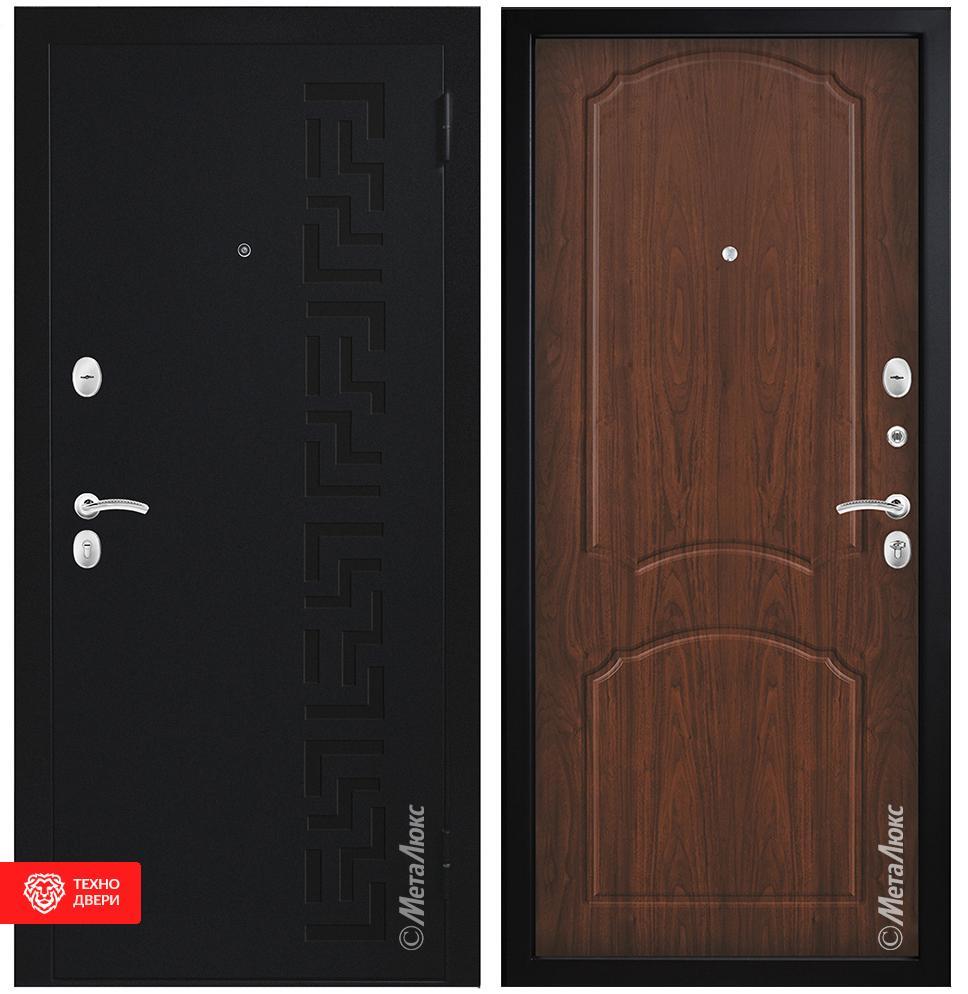 Дверь Металл МДФ, венге, 27967