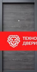 Дверь МДФ графит рисунок Тетрис, 10025 внутреняя сторона