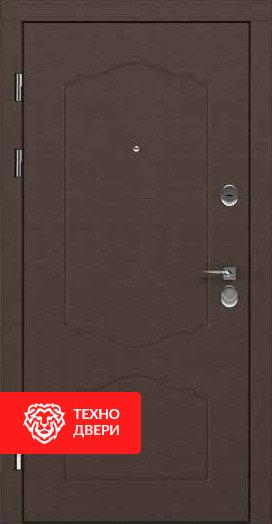 Дверь МДФ рисунок Классика Коричневая / Серая, 24189 внешняя сторона