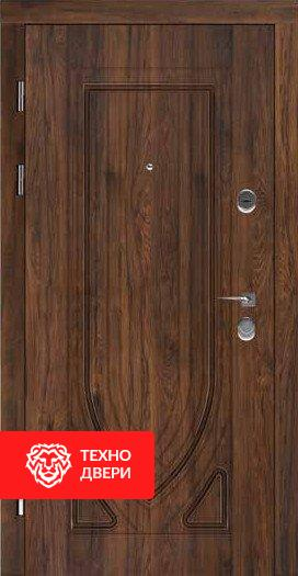 Дверь усиленная Винорит Венге Красный дуб, 24204 внешняя сторона
