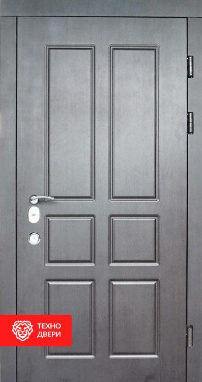 Дверь винорит молочный Шоколад / Серый, 24205 внутреняя сторона