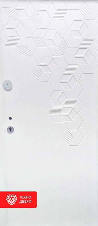 Дверь в квартиру усиленная 2 цвета, 26398 внутреняя сторона