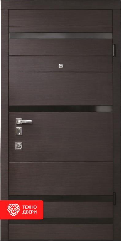 Дверь усиленная Две МДФ накладки покрыты ПВХ пленкой, 26458 внешняя сторона