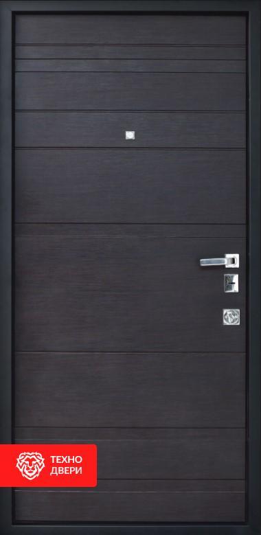 Дверь усиленная Две МДФ накладки покрыты ПВХ пленкой, 26458 внутреняя сторона