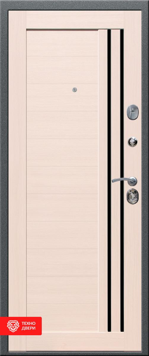 Дверь МДФ серии LUX МДФ в 3 контура утепления внутреняя сторона