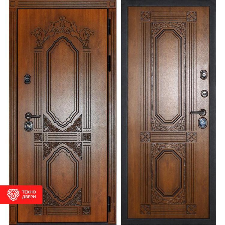 Входная металлическая дверь Дуб золотой / Дуб золотой, 3931
