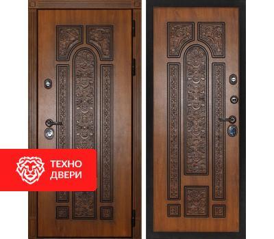 Входная металлическая дверь Дуб золотой / Дуб золотой, 3930